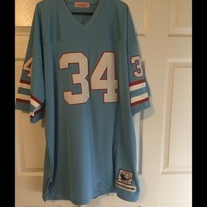 Mitchell & Ness Other - Mitchell & Ness Earl Campbell Throwback  Jersey