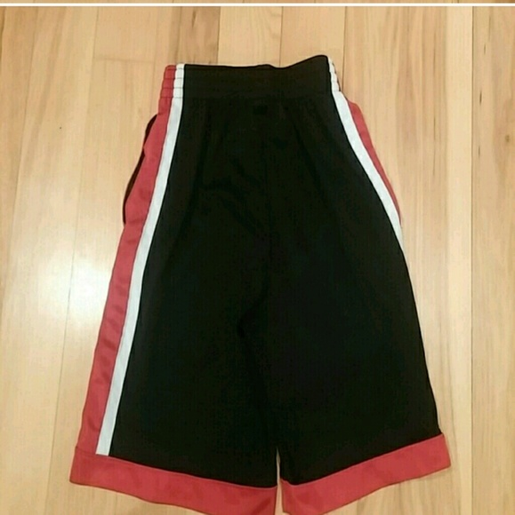 66% off Champion Other - Champion black shorts with red and white ...