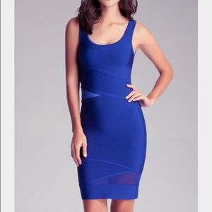 Bebe Bandage cut out tank dress - new with tags