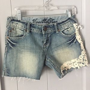Vanilla Star Pants - ♦️Boho Jean Shorts with Lace