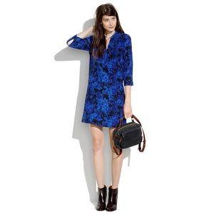 Madewell Silk Director Dress XS