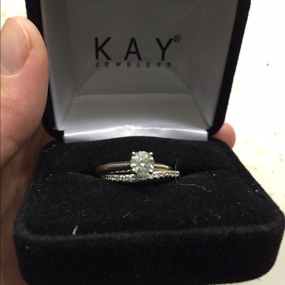 067898826 Kay Jewelers Jewelry - Kay Jewelers 1/2 solitaire wedding set.