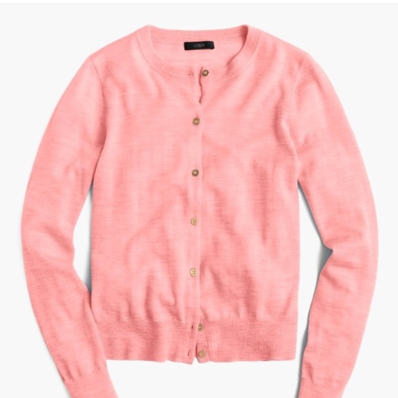 J. Crew Lightweight wool Jackie cardigan sweater ab00d44d9