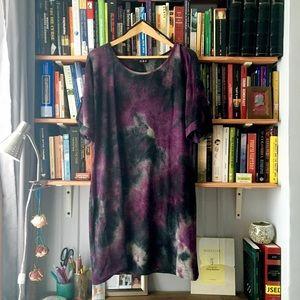 Tie dyed MSK dress