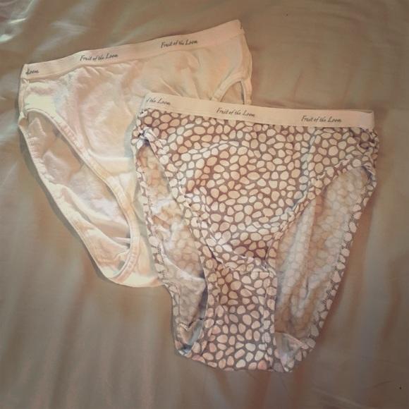 0b7ec80e228e Fruit of the Loom Intimates & Sleepwear | Nwot 3 Pair Hicut Cotton ...