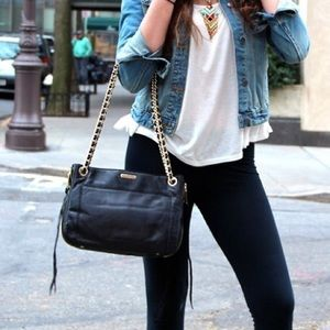 Black Rebecca Minkoff Swing Bag