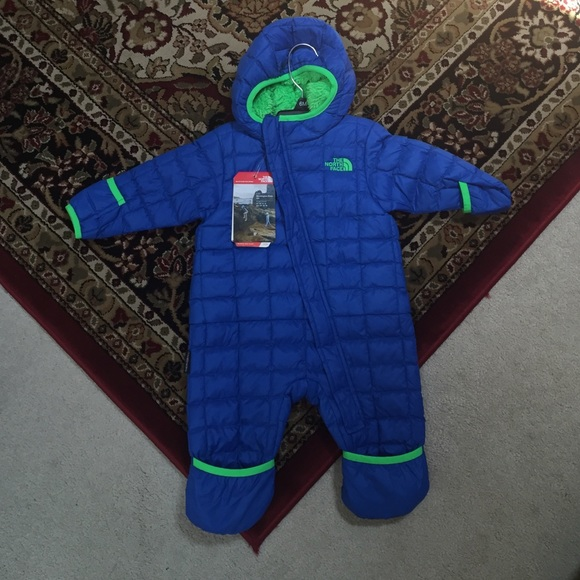 4e7e15d0f Northface Thermoball Bunting Infant Winter Suit