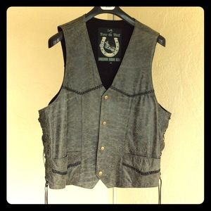 Scully Other - MENS XXL SCULLY Distressed Vest