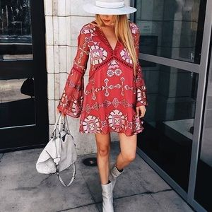S A L E // For Love & Lemons Barcelona ALine Dress