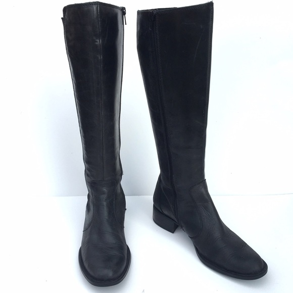 65 born shoes born leather black boots from s