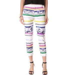 camilla & marc Pants - Camilla and Marc Illusion Chain Stripes Pants