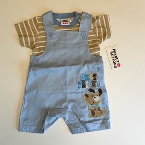 2a77229cd483 Peanut Buttons Matching Sets - 2-piece Tee shortall Set