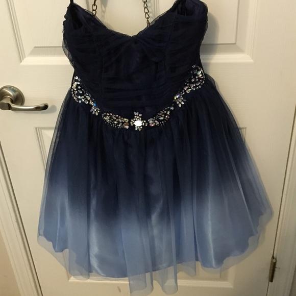 B smart blue dress online