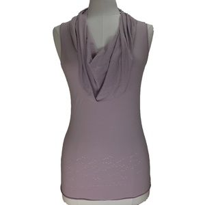 NWT Lilac Cowl Neck Shirt