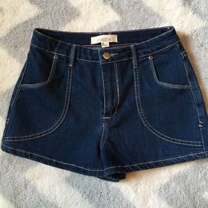 Forever 21 Pants - NEW LISTING ✨JEAN SHORTS✨NEVER WORN!!