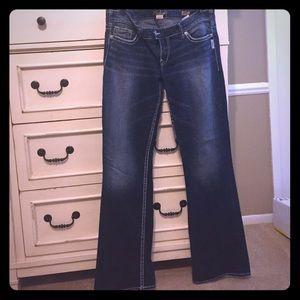 55% off Silver Jeans Denim - Silver Jeans SUKI FLAP 17&quot denim