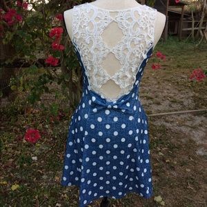 SALE Polka Dot Dress