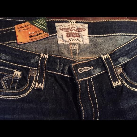 86f706e4e4b Big Star Jeans | Vintage Maddie Skinny Nwt | Poshmark