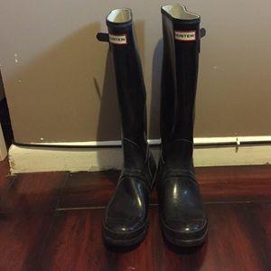 Original Gloss Hunter Rain Boots