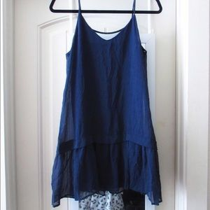 Dresses & Skirts - Navy baby doll dress