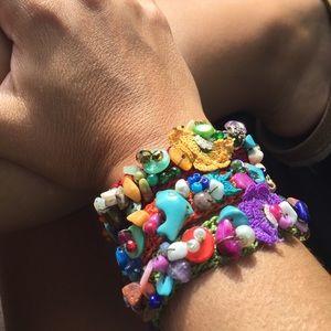 Crochet hand made bracelet