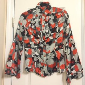 NEW Gorgeous Floral Evening Blouse