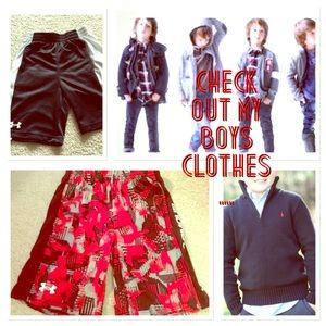 Other - Boys name brand clothes and shoes like for update