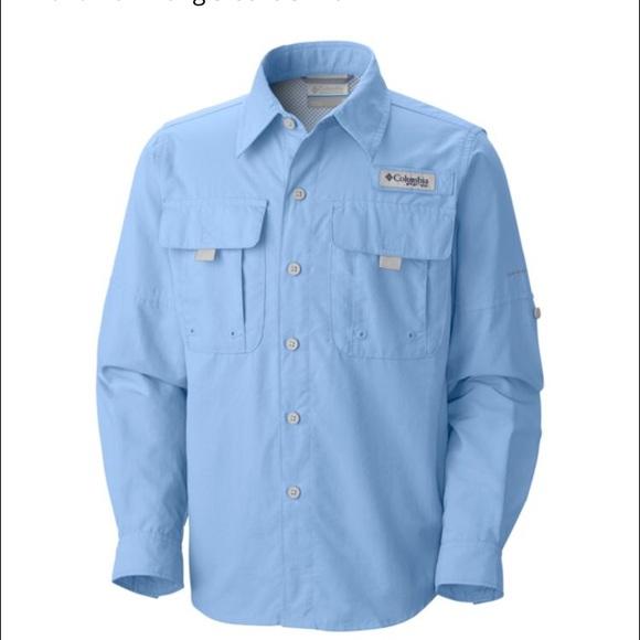 70 off columbia tops columbia blue fishing shirt size for Toddler columbia fishing shirt