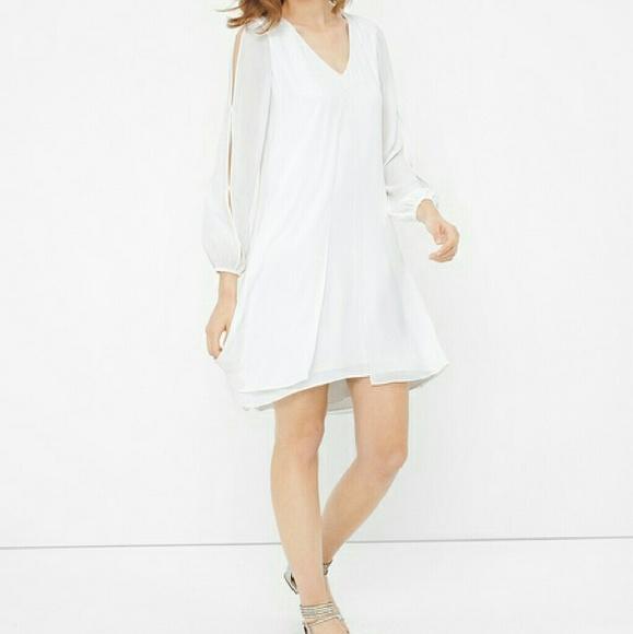 d71889a2727a4 White House Black Market Dresses | Boho Splitfront Minidress | Poshmark