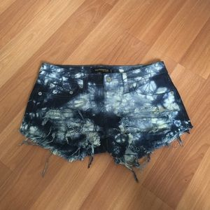 Levi Cut off Denim Shorts jeans Distressed