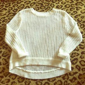 Pinc Premium Other - 🌟Sale🌟PINC Premium White waffle Sweater!