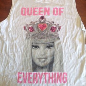  Barbie Queen Of Everything tank