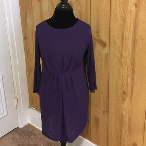 Purple Maternity top