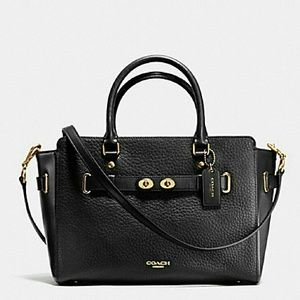 Coach Blake Carryall Bubble Leather Black NWT❤HP❤