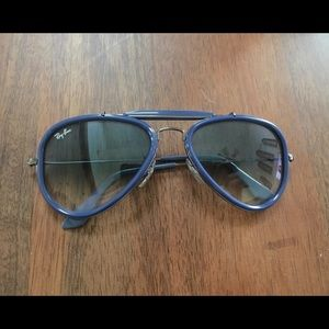 Ray-Ban Accessories - Blue Aviator Ray-Bans (Unisex)