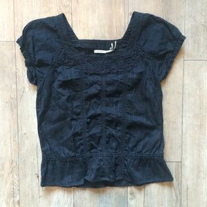 Urban Outfitters Kimichi & Blue Navy Blouse