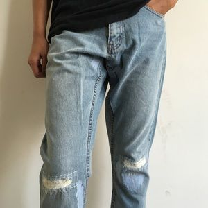 Cheap Monday Jeans - Cheap Monday Straight Up Thrift Jeans