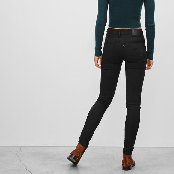 d1bda81ee Levi s Denim - Levis 721 High Rise Skinny Jeans Black Sheep