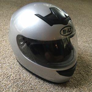Bilt motorcycle helmet