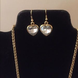 Jewelry - SALE Host Pick🌹Heart Gold Plated Set