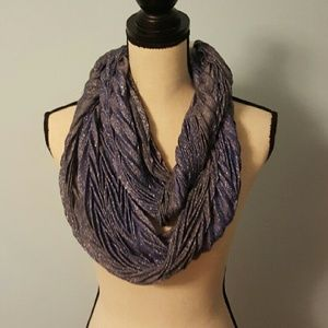 Collection XIIX Accessories - Collection 18 Blue/Purple Shimmer Infinity Scarf