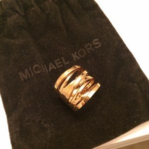 Michael Kors Gold wrap ring
