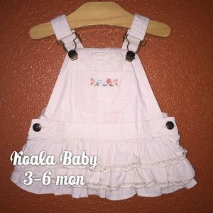 Koala Kids Other - Koala Baby Tan Khaki Dress Overalls 3-6 mon