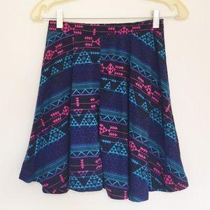 Bik Bok Dresses & Skirts - ☄BikBok Tribal Skater Skirt