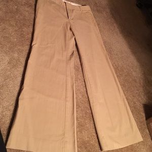 GAP Pants - Great Tan woven pants.8 reg. GAP
