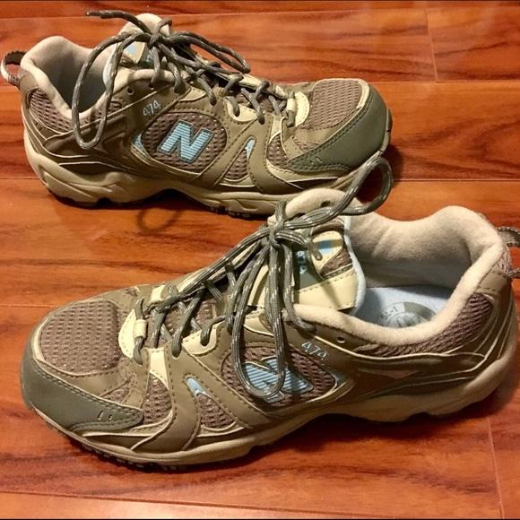 124ed266c674f New Balance Grey 474 All Terrain Running Shoes. M_579d67242de512669d07b1e1