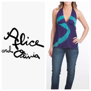 Alice + Olivia Tops - Alice + Olivia Tie Neck Top.
