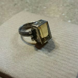 Jewelry - Stone, sterling silver ring