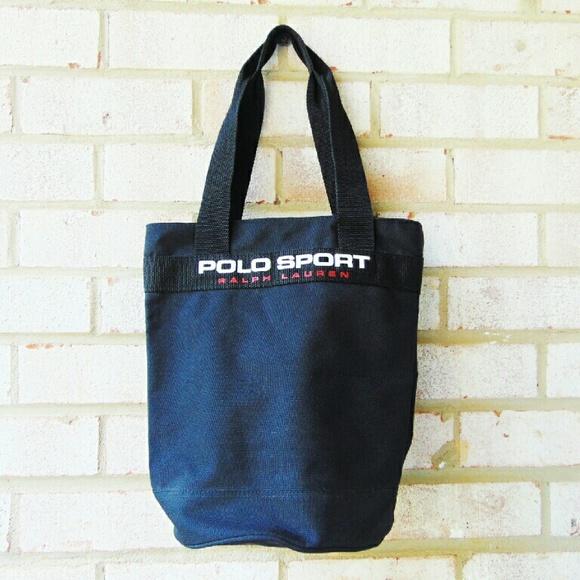 2c881f0129 Vintage Polo Sport Ralph Lauren Tote. M 579e449a9c6fcfe61a009424