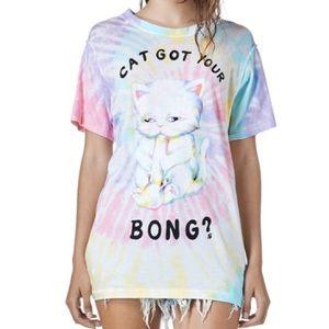 ISO UNIF Cat got your bong tee